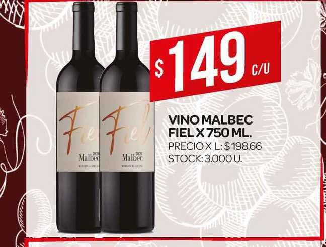 Supermercados DIA Vino Malbec Fiel