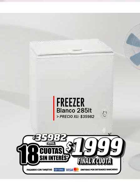 Supermayorista Vital Freezer Blanco 285lt