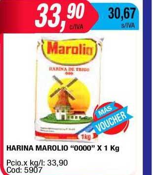 Maxiconsumo Harina Marolio