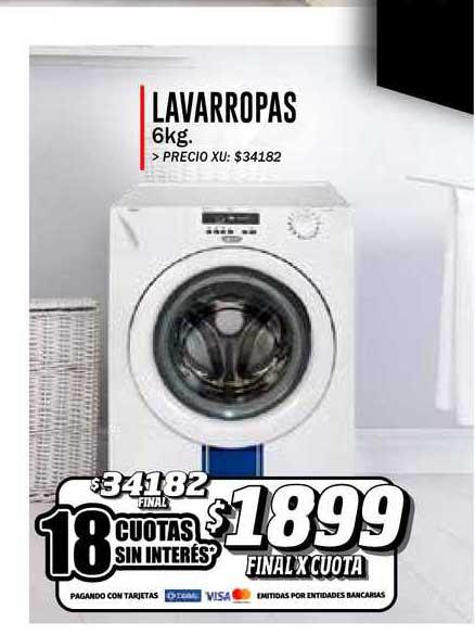 Supermayorista Vital Lavarropas 6kg.