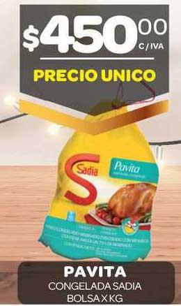 Carrefour Maxi Pavita Congelada Sadia Bolsa X KG