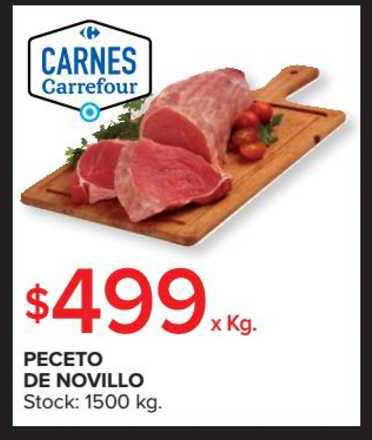 precio Desanimarse derrochador  Oferta Peceto De Novillo en Carrefour Market