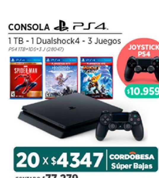 Genesio Hogar Consola PS4