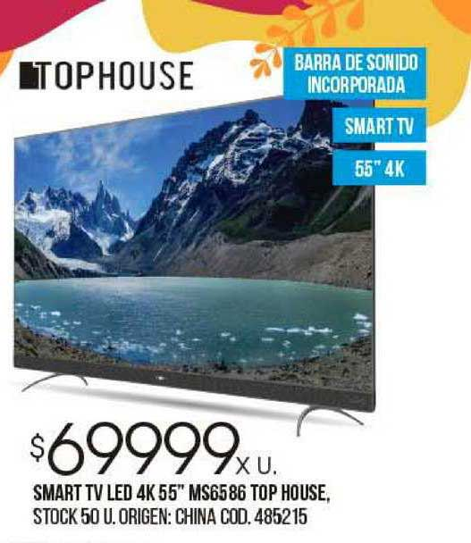 Coto Smart Tv Led 4K 55