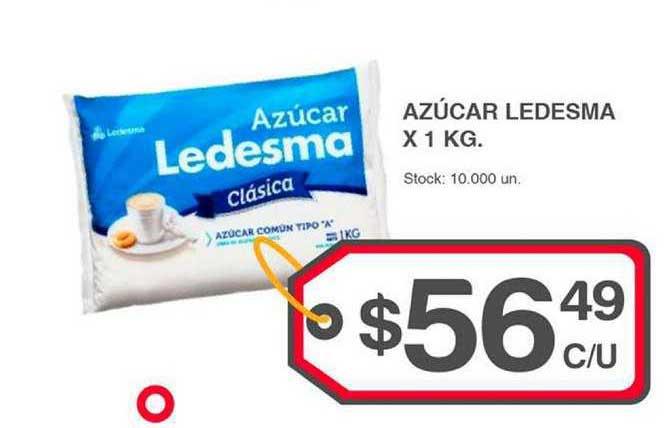 Supermercados Tadicor Azúcar Ledesma