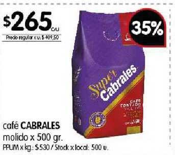 Disco Café Cabrales Molido