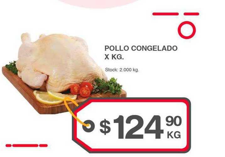 Supermercados Tadicor Pollo Congelado