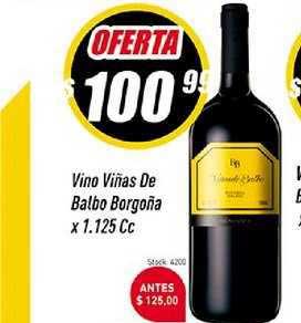 Supermercados Comodin Vino Viñas De Balbo Borgoña