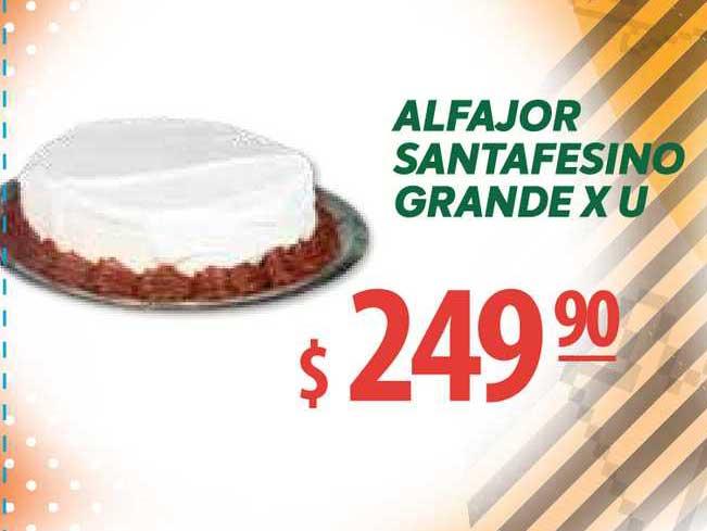 Único Supermercados Alfajor Santafesino Grande