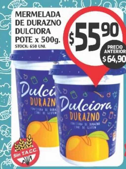 Supermercados Malambo Mermelada De Durazno Dulciora Pote