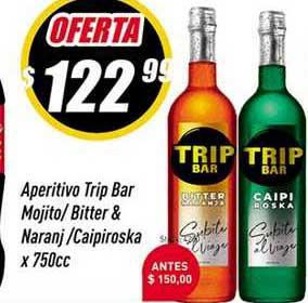 Supermercados Comodin Aperitivo Trip Bar Mojito-bitter & Naranj-caipiroska