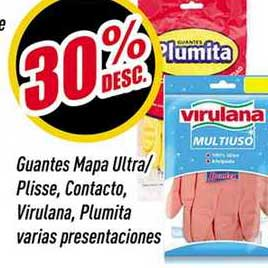Supermercados Comodin Guantes Mapa Ultra-plisse, Contacto, Virulana, Plumita Varias Presentaciones