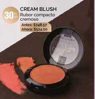 Pigmento Cream Blush Rubor Compacto Cremoso