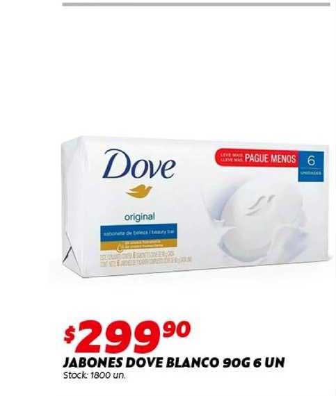 Ferniplast Jabones Dove Blanco 90G 6 UN