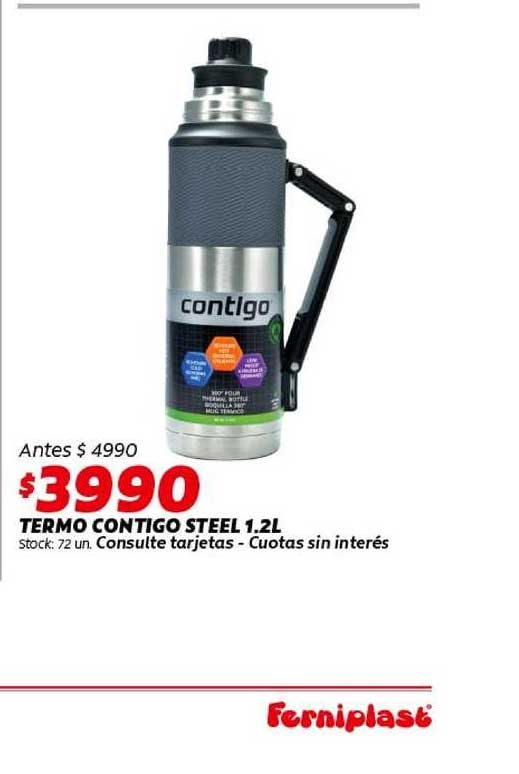 Ferniplast Termo Contigo Steel 1.2L