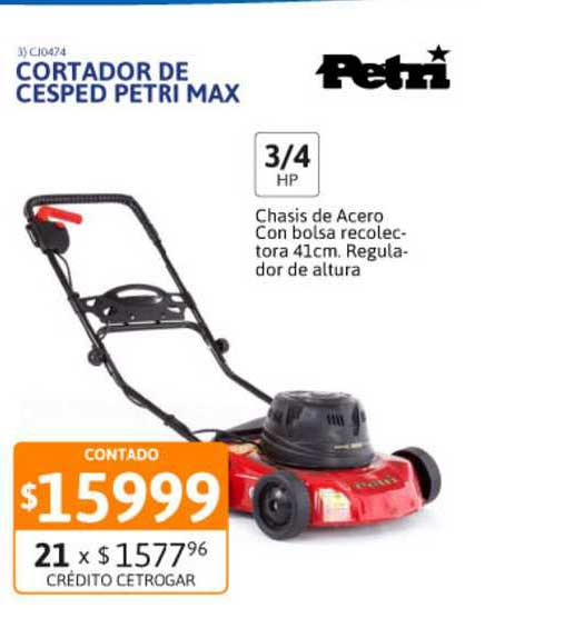 Cetrogar Cortador De Cesped Petri Max