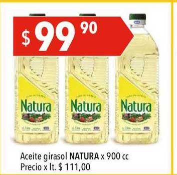 Hergo Aceite Girasol Natura X 900 Cc