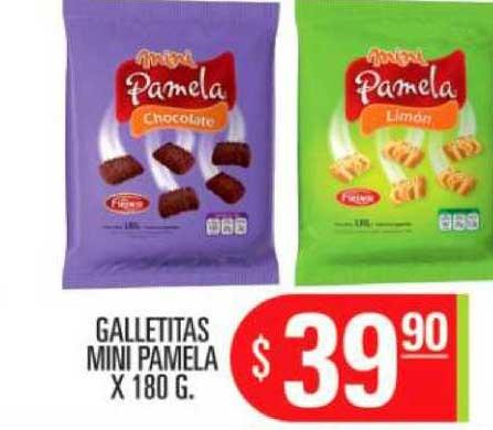 Supermercados Caracol Galletitas Mini Pamela X 180 G.