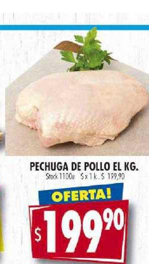 Supermercados Mariano Max Pechuga De Pollo