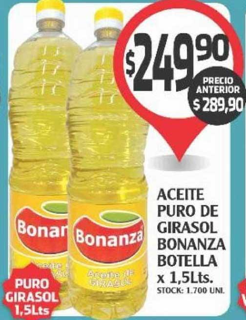 Supermercados Malambo Aceite Puro De Girasol Bonanza Botella