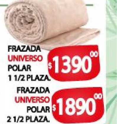 Supermercados Mariano Max Frazada Universo Polar 1 1-2 Plaza - Frazada Universo Polar 2 1-2 Plaza