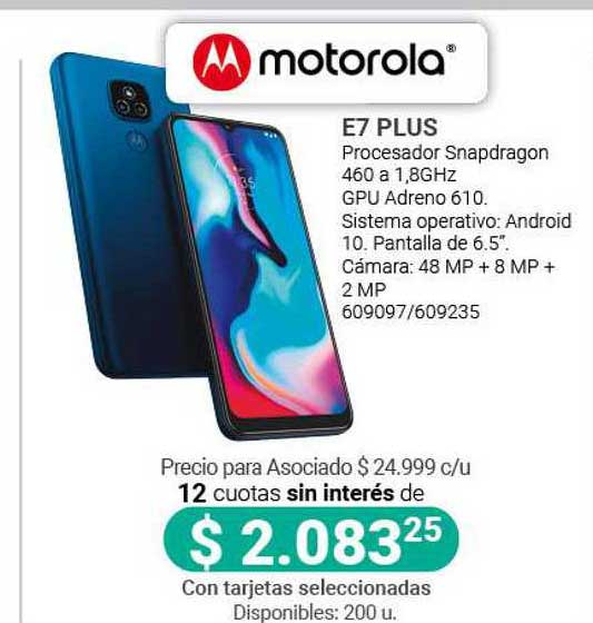 Cooperativa Obrera Motorola E7 Plus