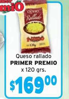 Único Supermercados Queso Rallado Primer Premio