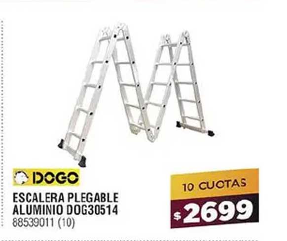 Bringeri Escalera Plegable Aluminio Dog30514