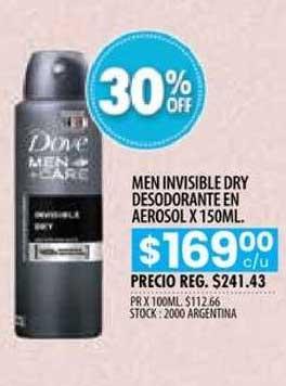 Pigmento Men Invisible Dry Desodorante En Aerosol