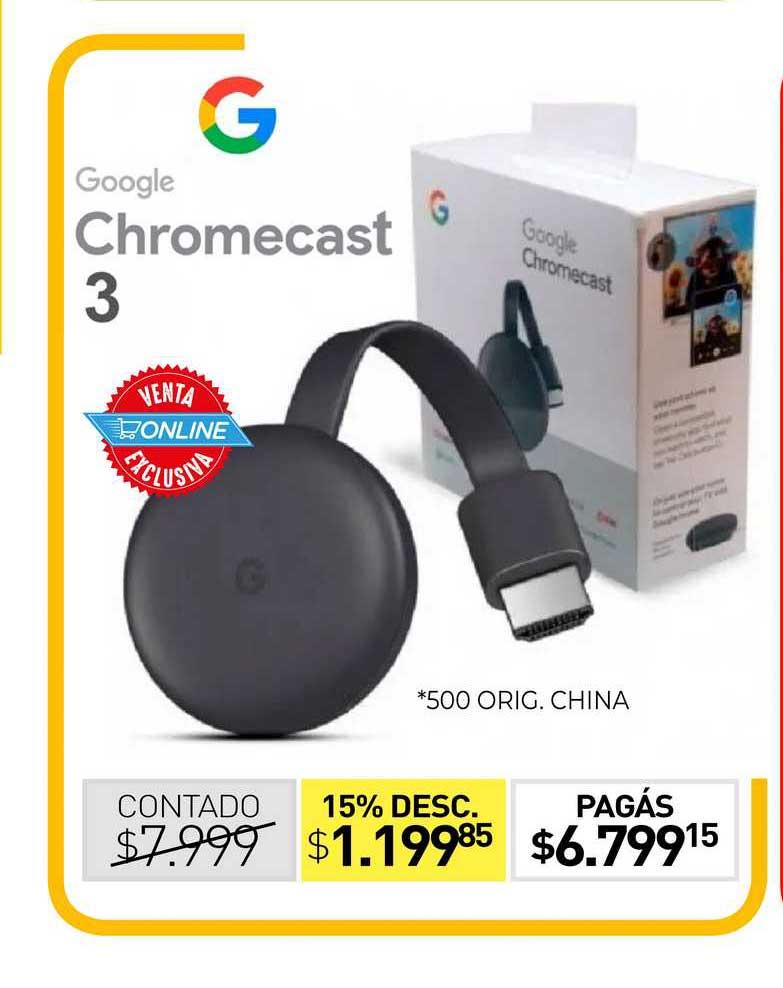 La Anónima Chromecast