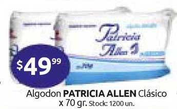 Cordiez Algodon Patricia Allen Clásico