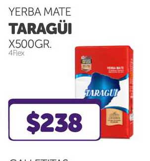 La Gallega Supermercados Yerba Mate Taragüi