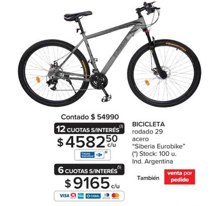 Carrefour Bicicleta Rodado 29 Acero