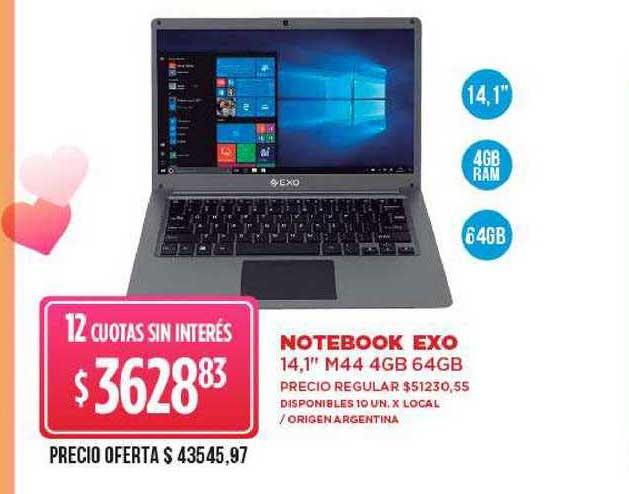 Supermercados Vea Notebook Exo 14.1