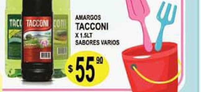 Delfín Supermercados Amargos Tacconi X 1.5lt Sabores Varios