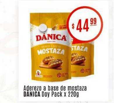 Arcoiris Supermercados Aderezo A Base De Mostaza Danica Doy Pack