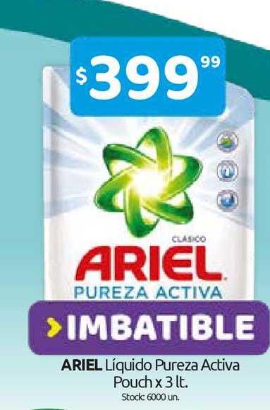 Cordiez Ariel Líquido Pureza Activa Pouch