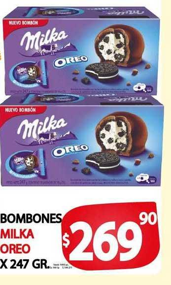 Supermercados Mariano Max Bombones Milka Oreo