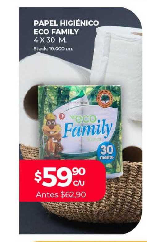 Supermercados Tadicor Papel Higiénico Eco Family