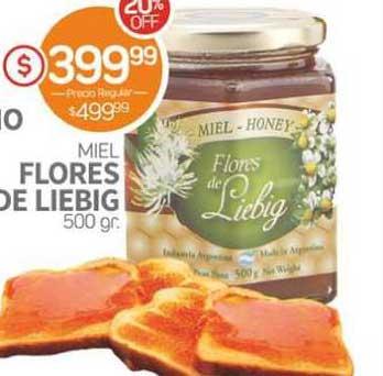 Super Alvear Flores De Liebig Miel