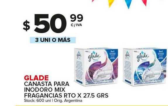 Carrefour Maxi Glade Canasta Para Inodoro Mix Fragancias Rto