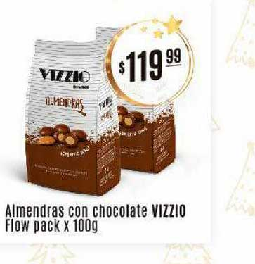 Arcoiris Supermercados Almendras Con Chocolate Vizzio Flow Pack