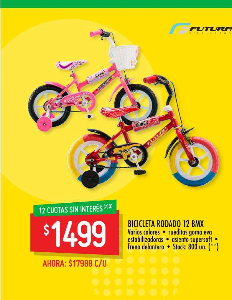 Changomas Bicicleta Rodado 12 BMX