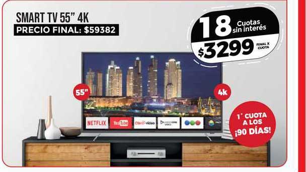 Supermayorista Vital Smart TV 55