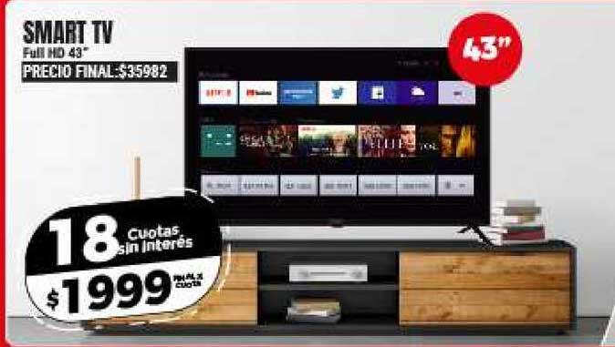 Supermayorista Vital Smart TV Full HD 43