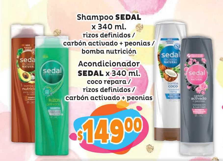 Único Supermercados Shampoo Sedal - Acondicionador Sedal
