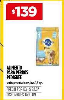 Supermercados Vea Alimento Para Perros Pedigree
