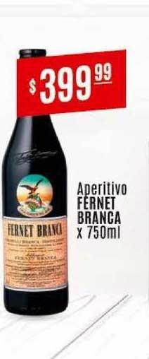 Arcoiris Supermercados Aperitivo Fernet Branca X 750ML