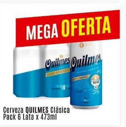 Arcoiris Supermercados Cerveza Quilmes Clásica Pack 6 Lata X 473ML