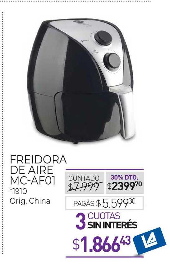 La Anónima Freidora De Aire MC-AF01